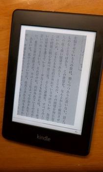 Kindle Paperwhite ではこんな感じです。