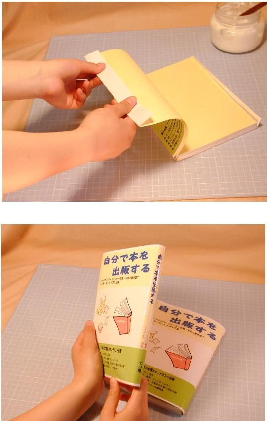 本体と正確に貼り終えて乾燥させれば完成です。