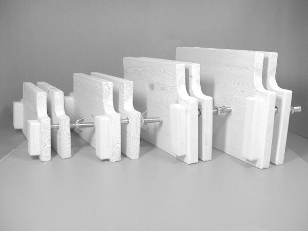 1冊づつ作る製本キット・左からB6、A5、B5、A4版